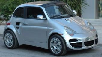 911-es Porsche gúnyát húztak erre a Fiat 500-asra