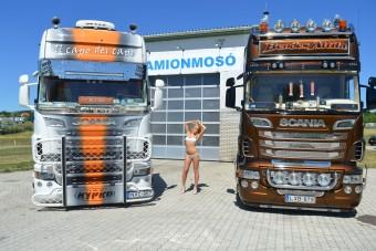 Szabó Zsófi miatt állt le egy forgalmas kamionmosó
