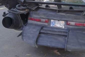 Ez az autó komolyan rendszámot kapott?