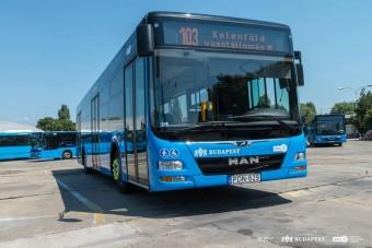 Új buszok Budapesten