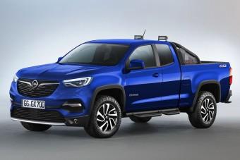 Mit szólnál egy Opel pickuphoz?
