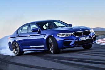 Összkerékhajtással debütált a vadonatúj BMW M5