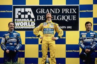 F1: Hivatalos, a kis Schumacher pályára lép Belgiumban - videó