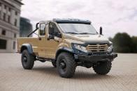 Nem ismer akadályt az új orosz pickup