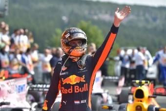 F1: Verstappen nem mehet sehova