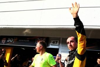 F1: Kubica nagyon meggyőző volt a teszten