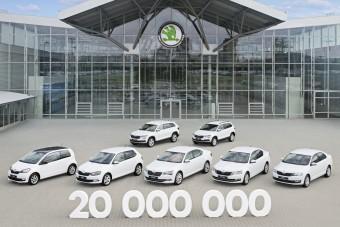20 millió autót gyártott a Škoda