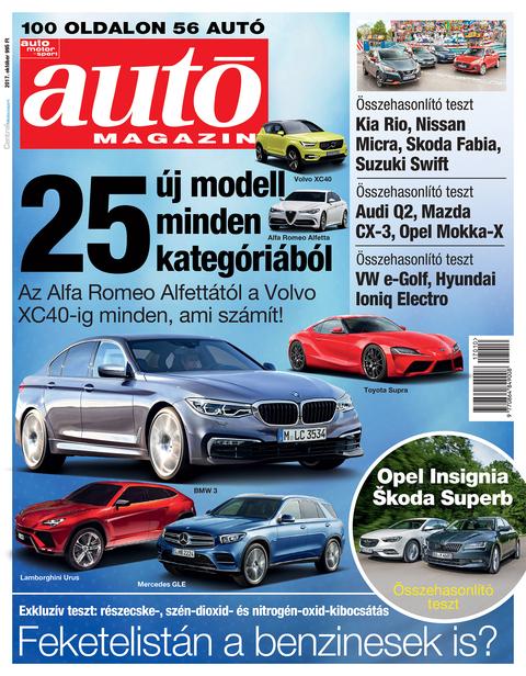 Autó Magazin 2017 október
