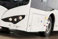 Itt vannak az első fotók az új magyar buszról