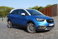Teszt: Opel Crossland X 1.2T