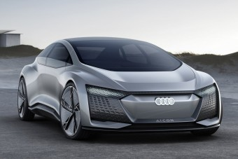 Audi Aicon: ne vezess, csak utazz!