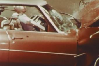 Kijózanító töréstesztvideó a 70-es évekből