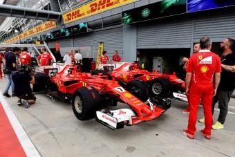 Vettel: A Ferrarinál nincs pilótasorrend