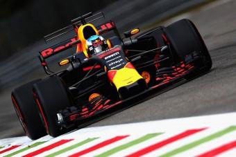 F1: Mindkét Red Bull-pilótát hátrasorolják