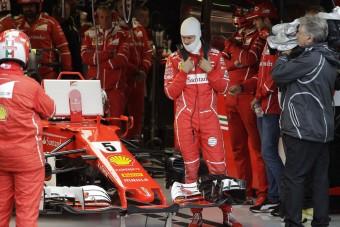 Vettel: meglepett a többiek tempója