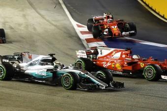 F1: A Mercedes aggódik a szingapúri diadal miatt