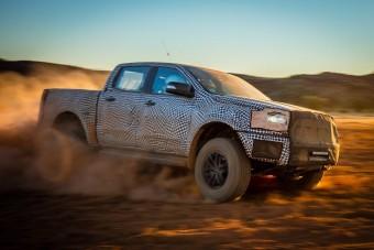 Vadállat terepsportautóval erősít a Ford