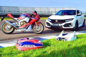 A Honda megcsinálta a Type R fűnyírót