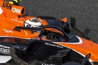 F1: Drága mulatság lesz a fejvédő!