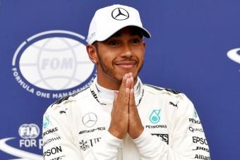 F1: Hamilton siratja a leghúzósabb futamot