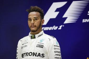 F1: Hamilton Palvinnal, Neymarral ünnepelt - fotó