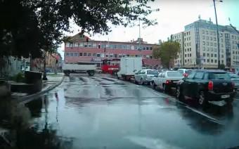 A budapesti mercis nem nagyon érzékelte, hogy jön a mentő