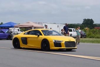 Két Veyronnal is felér ez az R8-as Audi