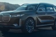 Fejedelmien ormótlan a BMW új szuperluxus-terepjárója