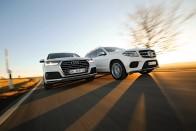 Összehasonlító teszt - Audi Q7, Mercedes-Benz GLS