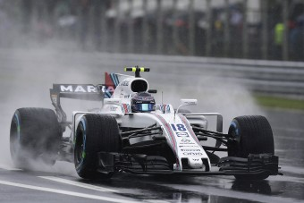 F1: Verstappen rekordja is odalett az esőben