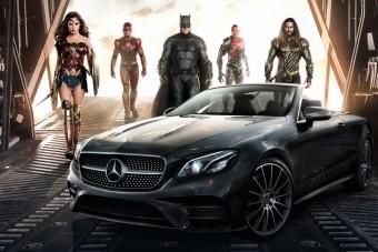 Mercedesre váltanak a szuperhősök