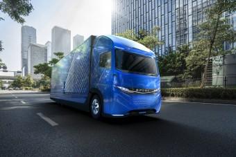 Újabb elektromos teherautót mutatott be a Mitsubishi