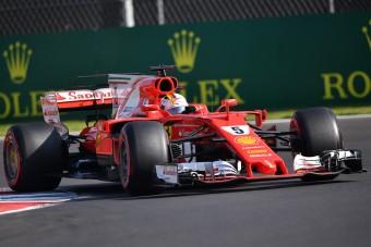 F1: Vettel rekorddal nyerte a pole-t Mexikóban