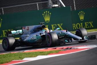 F1: Hamilton fél, hogy vonatoznia kell