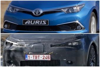 Toyota Auris: nem sokat változik a harmadik generáció