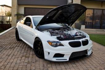 Bitang őrület a Wankel-motoros BMW M6-os