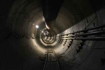 Így néz ki a Tesla-vezér első alagútja