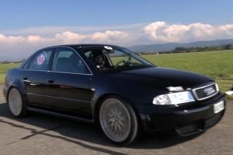 Bitang módon szól ez a bivalyerős Audi