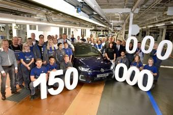 Átadták a 150 milliomodik Volkswagent