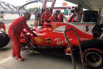 F1: Balesettel kezdődött a hétvége - videó