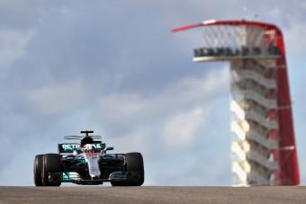 F1: Vettel nem bírt Hamiltonnal
