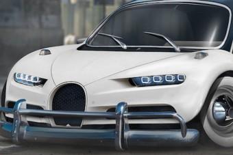 Ilyen a Bugatti és a Bogár szerelemgyereke