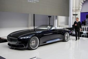 Budapesten a legfényűzőbb Mercedes koncepció
