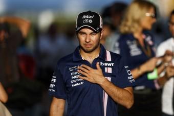 F1: Perez az orvosoknak köszönte a célba érést