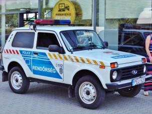 Itt az új magyar rendőrautó, ami Lada!