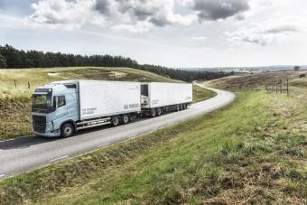 Gázos irányt vett a Volvo teherautók fejlesztése