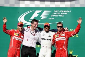 Vettel: Ma nem tudtunk a Mercedesszel menni