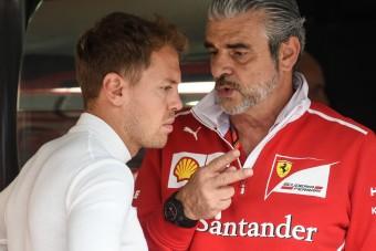 F1: Vettel ragaszkodik a csapatfőnökhöz