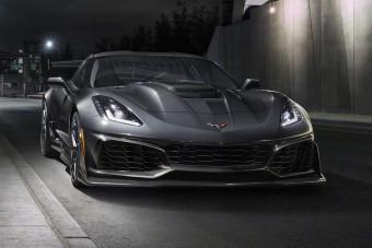 Ez minden idők legerősebb, leggyorsabb Corvette-je