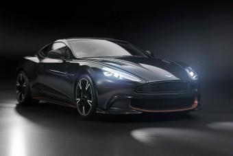 Feketében búcsúzik az Aston Martin Vanquish